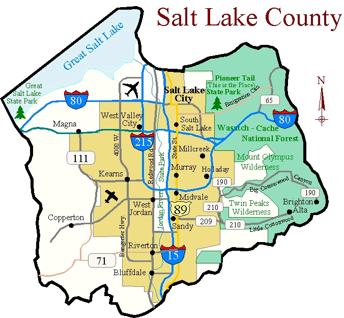 Birding In Salt Lake County Utah